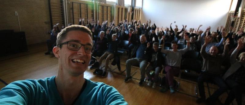 Ordbilndhed skal det stoppe dig? Nej! - Foredrag af Jesper Sehested i ordblindeugen