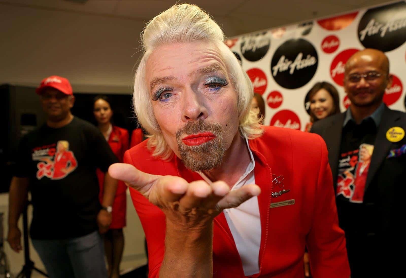 Sir Richard Branson som kvinde