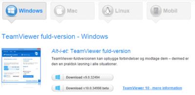 Teamviewer fulde version