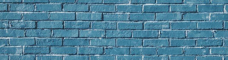 blå mur