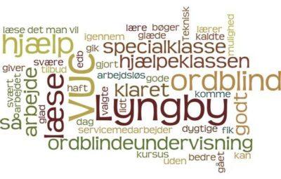 Jeg fik et tilbud om ordblindeundervisning på VUC Lyngby igennem mit arbejde. Og jeg er glad for at de valgte VUC Lyngby