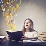 ordblind få en positiv oplevelse