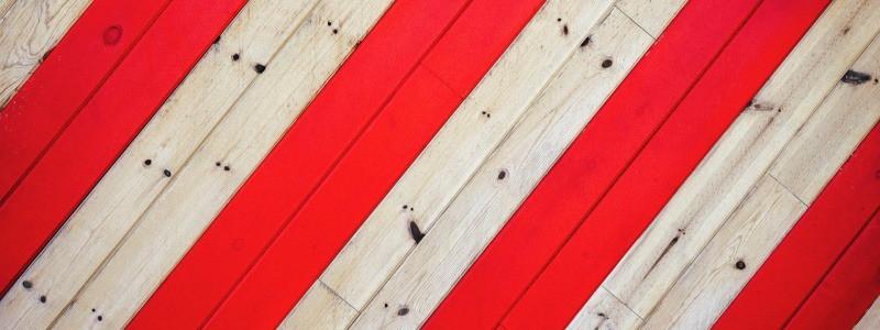 røde streger